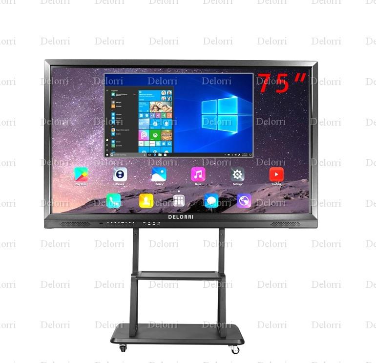 интерактивная панель 75 дюймов