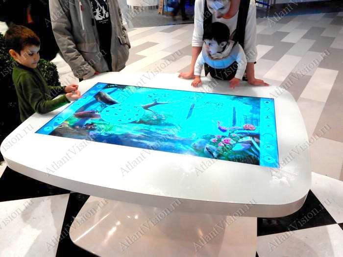 интерактивный пол игра для детей 2
