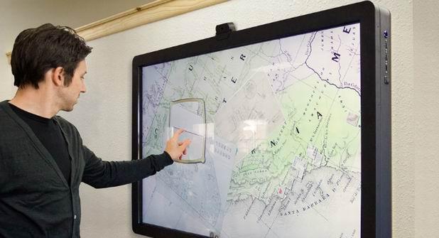 сенсорная карта фото