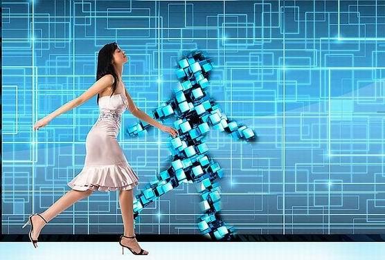 интерактивная стена-отражение