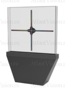 Акриловая витрина с подставкой