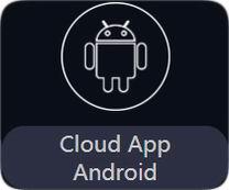 программное обеспечение DSEE по управлению голографическим вентиллятором на Cloud App Android